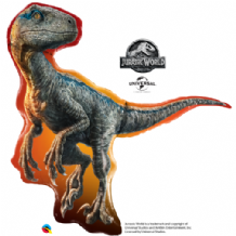 Jurassic World Raptor Large Foil Balloon 1pc
